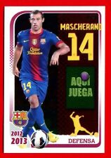 FC BARCELONA 2012-2013 Panini - Figurina-Sticker n. 69 - MASCHERANO -New