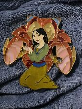 Disney Mulan Mushu Stained Glass Heroine Fantasy Pin LE 35
