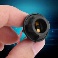 2pcs Light Bulb Socket T10 W5W Soft Rubber Light Bulb Socket Lamp Holder For _gu