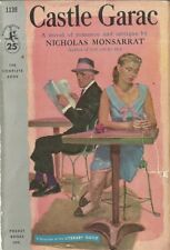 Castle Garac Nicholas Monsarrat 1956 GGA Vintage Paperback Good Plus