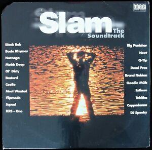 SLAM - THE SOUNDTRACK 1998 2X VINYL LP COMPILATION Q-TIP, KRS-ONE, BEY *SEALED*