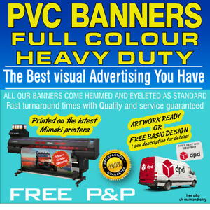 PVC Banners Outdoor Heavy Duty Custom Printed  PVC Banner Outdoor Printed Sign