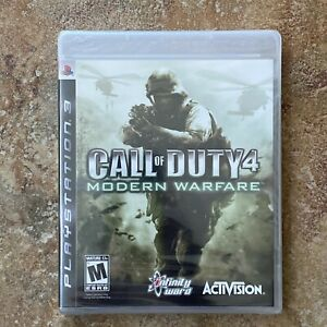 Call of Duty 4: Modern Warfare - PlayStation 3 PS3 (2007) SEALED First Edition