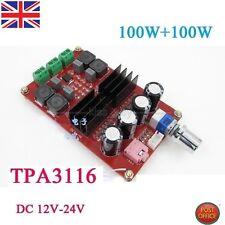 TPA3116 2*100W D2 Dual Channel Digital Audio Amplifier Board 12V-24V for Arduino