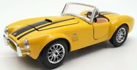Maisto 1/24 Scale Model Car 31276 - 1963 Shelby Cobra 427 - Yellow