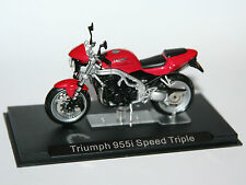 IXO - TRIUMPH 955i Speed Triple - Motorcycle Model Scale 1:24