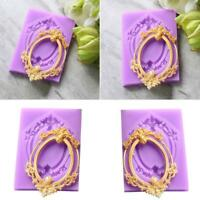 European Window Lace Silicone Mould Cake Cookie Chocolate Candy Baking Mold Gift