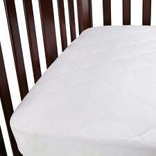 Carter's Waterproof Fitted Quilted Crib & Toddler Protective Mattress Pad Cover