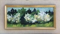 ANN- MARIE EKBOM-WIKSTRÖM - MODERN SCANDINAVIAN ART - BAUMBLÜTE - 32 x 57