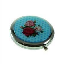 Bouquet de roses sur Polka Dot Design Sac à main miroir XHMC 152