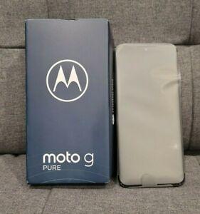 PREVIOUSLY DISASSEMBLED Motorola Moto G Pure 2021 32GB T-Mobile/Metro *BAD* IMEI