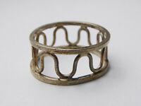 Vintage Scottish Norman Grant Sterling Silver Ring