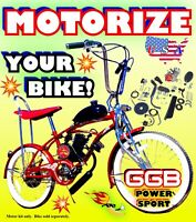 HIGH POWER 66cc/80cc 2-STROKE MOTORIZED BIKE KIT FOR DIY MOTORIZED BICYCLES