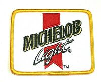 Vintage Michelob Light Beer Distributor Cloth Jacket Hat Patch 1980's NOS New