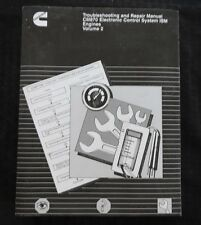 CUMMINS DIESEL ENGINE CM870 ELECTRONIC CONTROL SYSTEMS ISM REPAIR SERVICE MANUAL