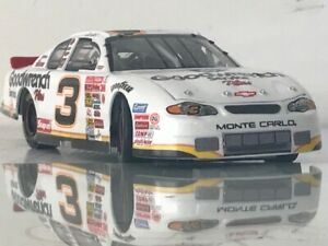 DALE EARNHARDT SR * REVERSE PAINT > BLACK to WHITE <GM GOODWRENCH SERVICE PLUS