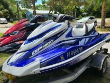 2018 Yamaha GP1800 3 Seater Blue White Black Waverunner 77 Hours Well Maintained