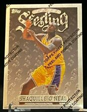 1996-97 Topps Finest Sterling #289 S54 Shaquille O'Neal Los Angeles Lakers