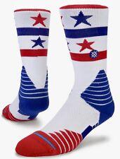 Stance Hoop Fusion Basketball 559 Socks 2 Pairs Men's 9-12 USA NBA Large