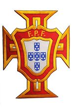 PORTUGAL FPF LOGO EXTRA LARGE FIFA World Cup IRON-ON PATCH CREST BADGE