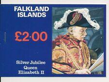 1977 Falkland Islands £2 Silver Jubilee stamp booklet complete.Mint & Pristine