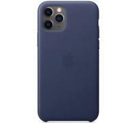 Apple Original Funda Cuero Leather Case para el iPhone 11 Pro - Azul noche