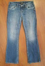SILVER Jeans AIKO Bootcut size 29 x 29.5 Medium Wash Stretch