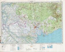 Russian Soviet Military Topographic Maps - HO CHI MINH CITY / SAIGON (Vietnam)