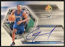 2005 SP Authentic Signatures Gilbert Arenas Auto Washington Wizards