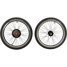 "Laufradsatz 20"" E Bike Radnabenmotor Remington City Urban Folder Klapprad Räder"