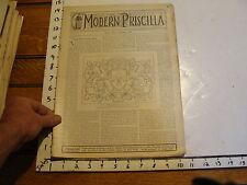 The Modern Priscilla : lynn Mass 1899 SEPT : vol XIII # 7 ENGLISH RAISED LEATHER