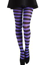 Pamela Mann Twickers Flo Purple/Black Plus Sized Tights