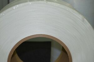 WHITE PALLET STRAPPING BANDING COIL 2500M X 12MM X 0.55MM