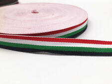 5Yards Of 1.5cm/0.6in Webbing stripe Colours Bags,Straps,Crafts,Leads