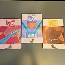 Winsor Pilates DVD Set Power Sculpting, Abs, & Step by Step Guide