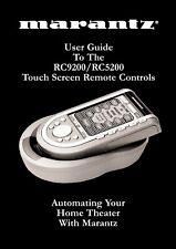 Bedienungsanleitung-Operating Instructions für Marantz RC-5200, RC-9200