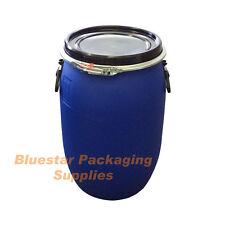 Plastic Storage Barrels Ebay