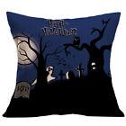 Halloween Pumpkin Waist Throw Cushion Cover Pillow Case Sofa Home Bed Decra