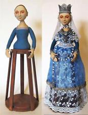 "*NEW* CLOTH ART DOLL PATTERN ""ISABELLA, SANTOS CAGE DOLL"" BY ARLEY BERRYHILL"