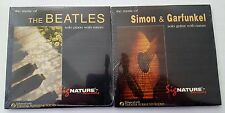 MUSIC OF THE BEATLES & SIMON & GARFUNKEL by Kit Walker - With Nature  2 CD Set