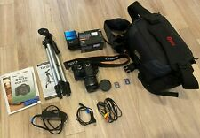 Canon EOS Rebel T3i Digital SLR Camera w/ bag, tripod, & flash