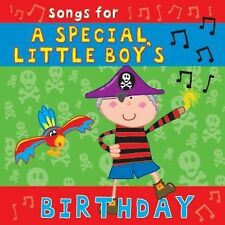 Songs for a Special Little Boy's Birthday by CYP Ltd (CD-Audio, 2010)