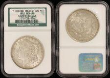 1921 Morgan Silver Dollar - NGC Binion Collection