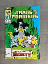 LES TRANSFORMERS N°8 ÉDITIONS HÉRITAGE 1986 TRÈS BON ÉTAT