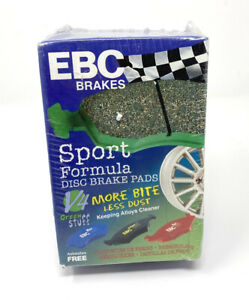 EBC DP21134 GREENSTUFF STREET ORGANIC BRAKE PADS - SPORT FORMULA - NEW SEALED