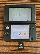 Nintendo 3DS XL Gaming Console Black - Console + Memory Card Only - Tested