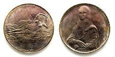 Medaglia Maja Desnuda - Gioconda Argento 999 Diametro cm 3,6 g. 17,9