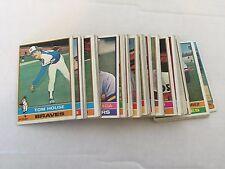 1974 Topps Baseball Card Lot 250 Different Cards Starter Set VG or Better Cond