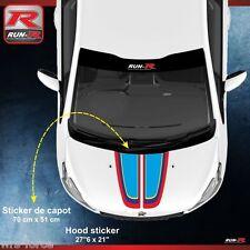 Peugeot Sport 208 207 206 hood sticker decal GTI RC pure tech vti thp hdi 00AS