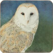 Nocturne Owl Set of 4 Coasters Gift Box